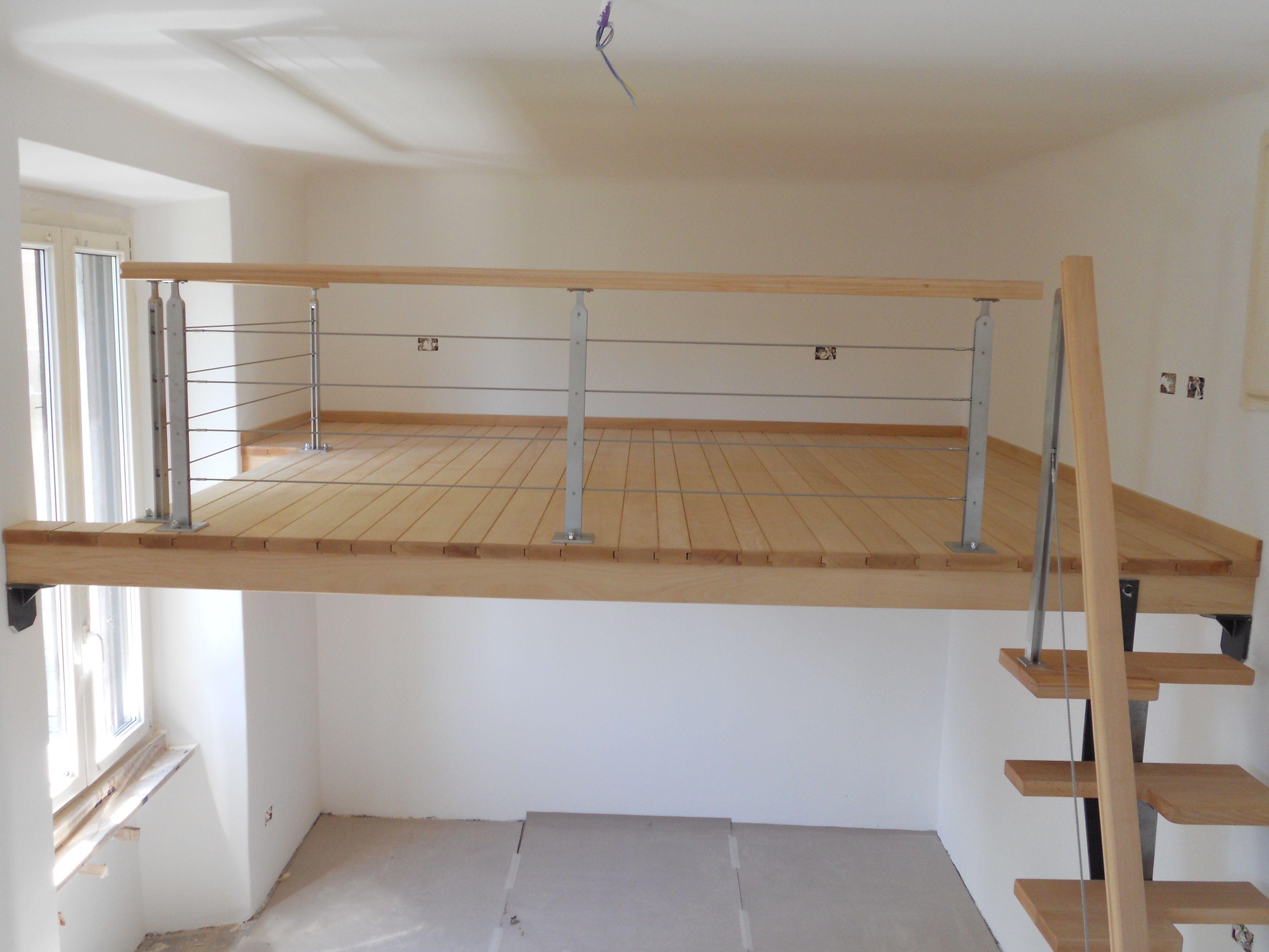 Soppalchi solartecno s r l camera loft camere da for Soppalco d arredo