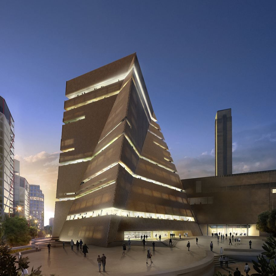 The Tanks Herzog De Meuron Tate Modern Extension Architecture Architecture Design