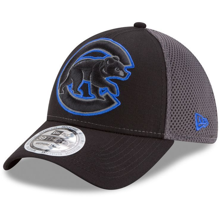 Chicago cubs megaflect 39thirty flex hat by new era new