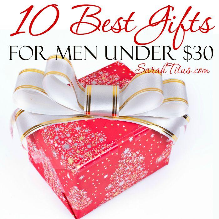 Christmas gift ideas for men under $30