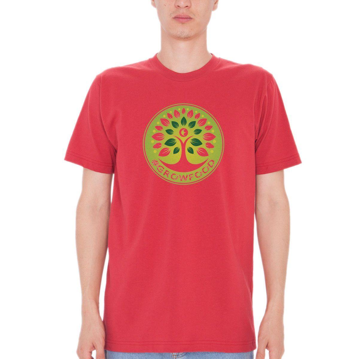 #GrowFood - Grow Life - Organic Cotton T-Shirt - Unisex