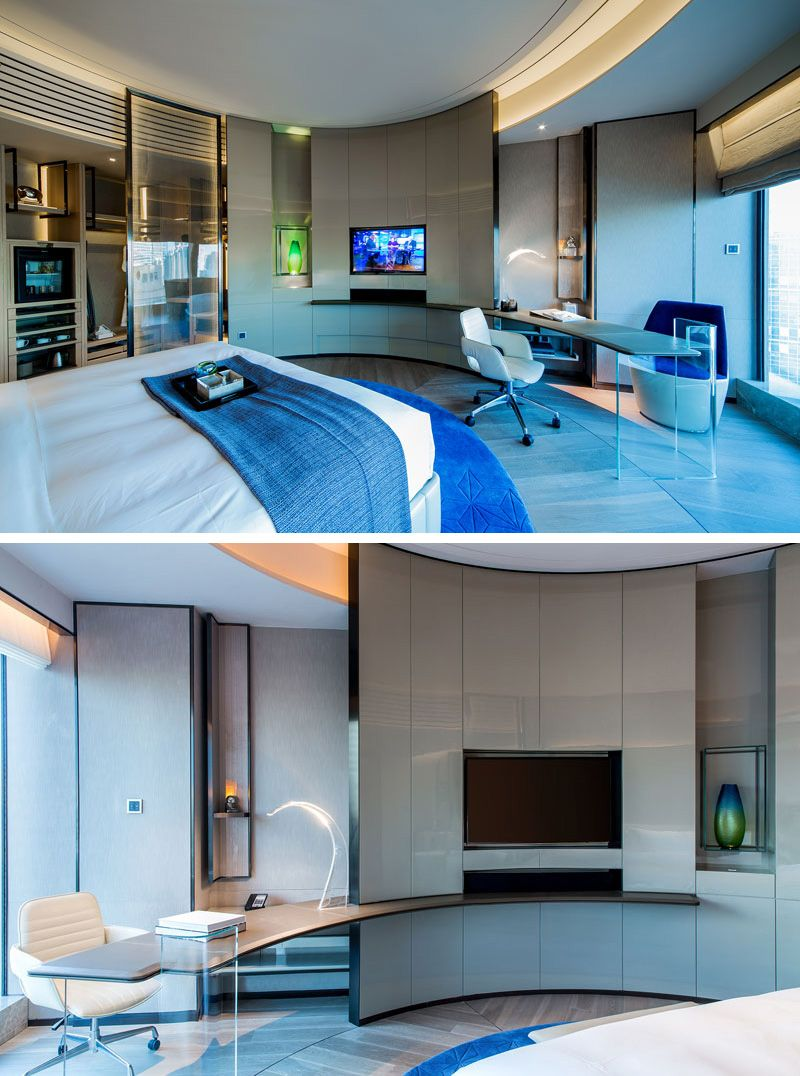 Hotel Room Design: 27 Photos Inside The New InterContinental Beijing Sanlitun