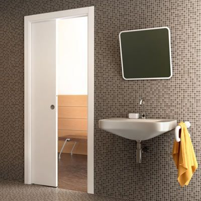 Eclisse Single Pocket Door Kit - 100mm Finished Wall - 610 x 1981mm Door Size | Ironmongery Direct
