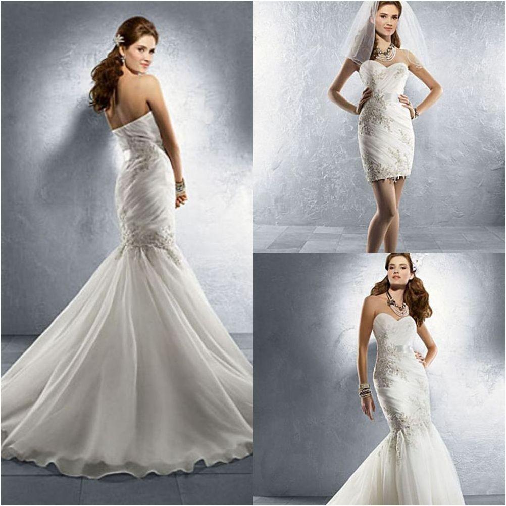 Top 19 Convertible Mermaid Wedding Dress With Detachable Skirt Mermaid Wedding Dress Detachable Wedding Dress Lace Wedding Dress Vintage [ 1002 x 1002 Pixel ]
