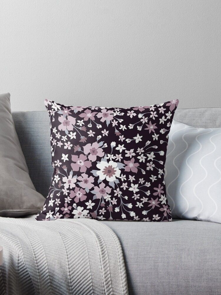 Surprise a loved one with this beautiful floral collection or transform your home with quality pillow covers. So many choices!! • Millions of unique designs by independent artists. Find your thing. #housedecoratingideas, #housedecorations, #housedecor, #housedecoratingideaslivingroom, #floraldesign, #pillowcover, #pillowsdecorativeoncouch, #pillowcasepattern,