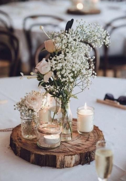 Mariage : 25 inspirations de centres de tables !