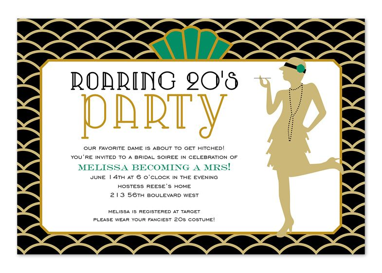 Roaring 20s Birthday