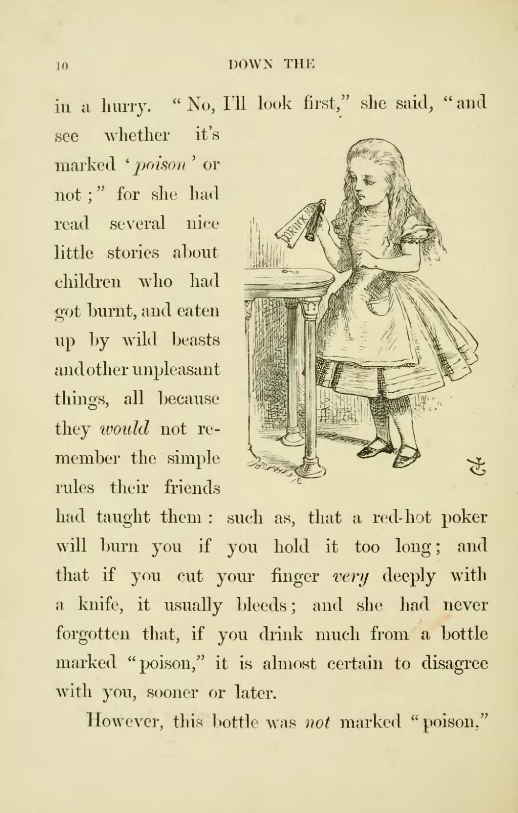 Page:Lewis Carroll - Alice's Adventures in Wonderland.djvu/30 - Wikisource, the free online library