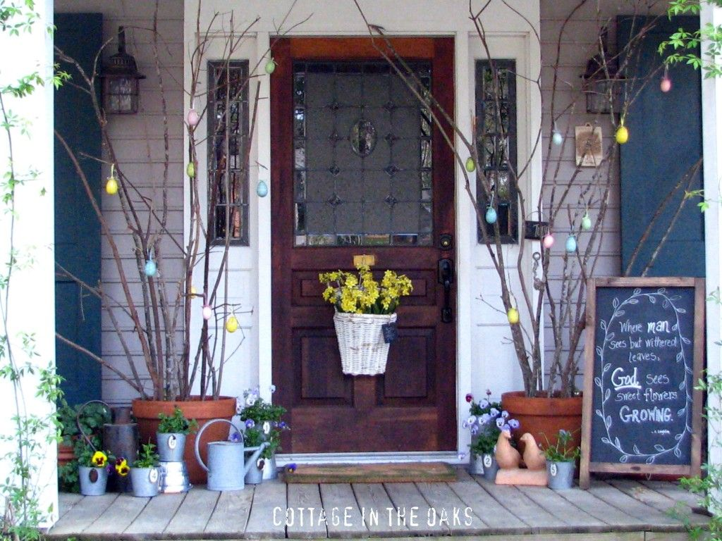 Major Spring Inspiration: Striking Spring Doors, Porches, and Entryways.  Roundup by @Jenna_Burger, SASinteriors.net