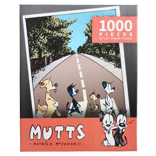 The Beagles Tabby Road 1 000 Piece Puzzle Artwork Jigsaw