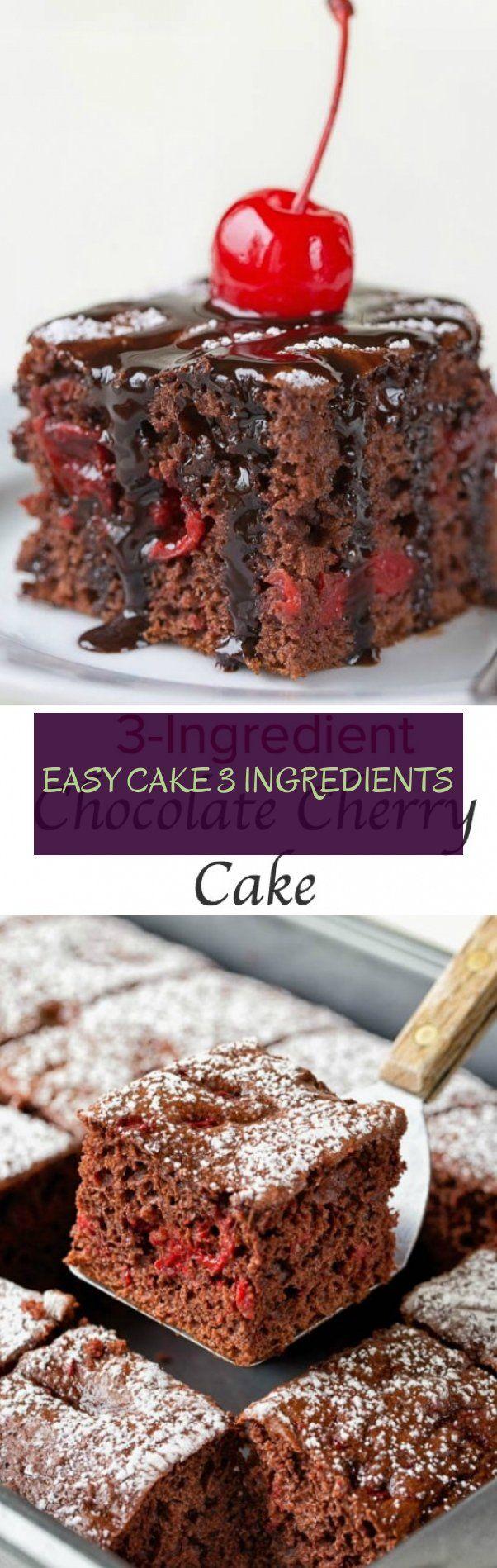 easy cake 3 ingredients