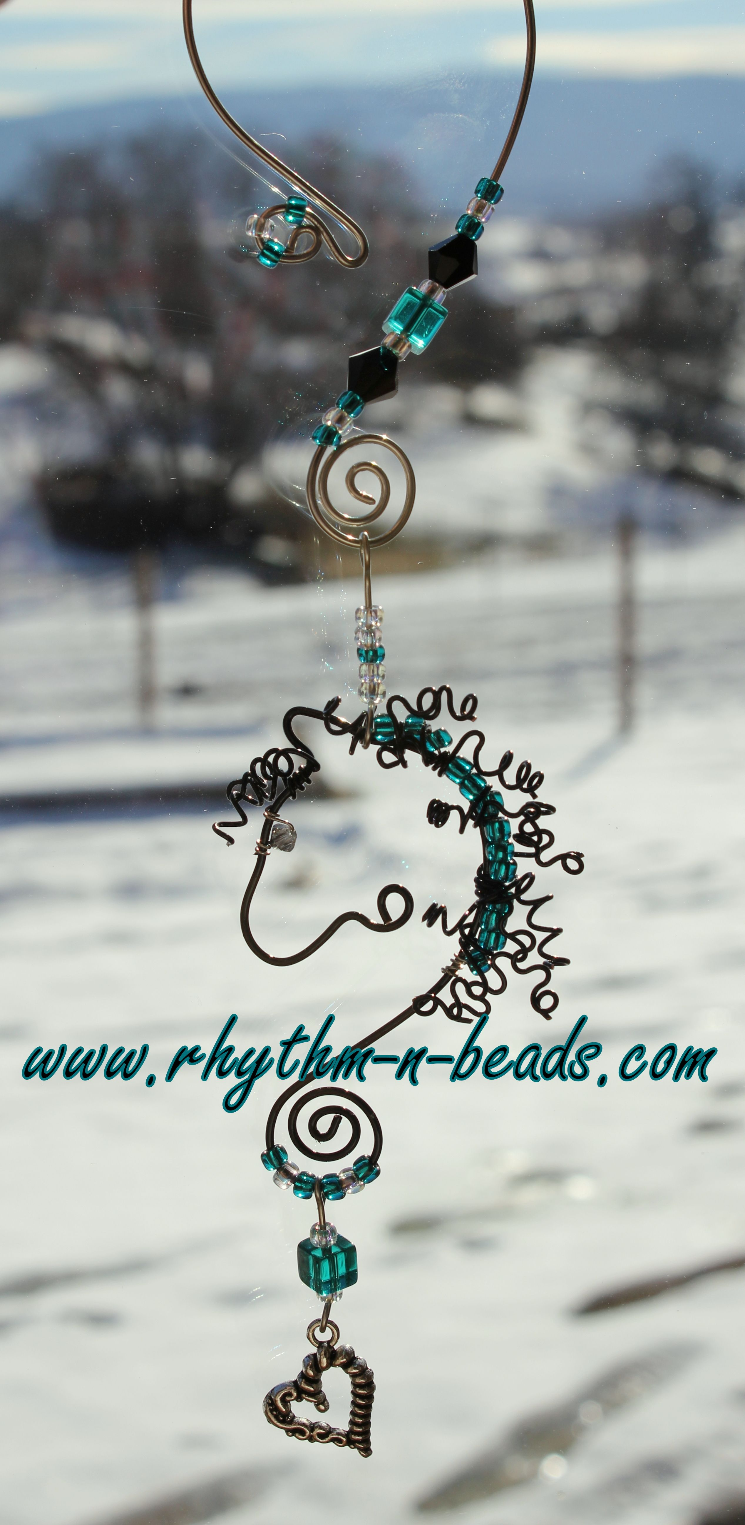 Wired Whinnies SunJewels ~ by Rhythm-n-Beads TM are whimsical wire ...