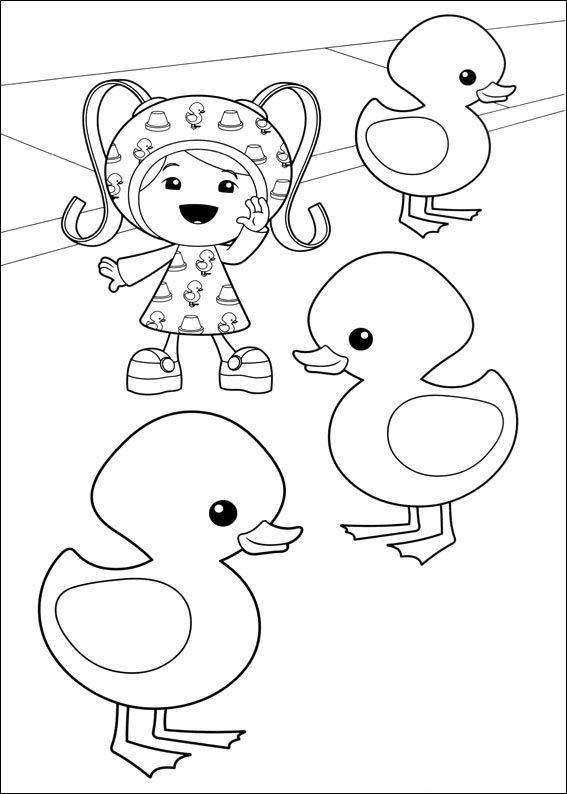 Dibujos para Colorear Umizoomi 4 | Dibujos para colorear para niños ...