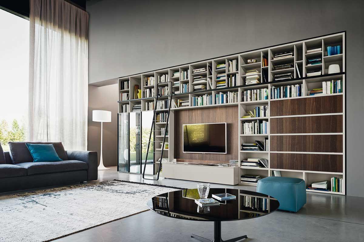 Soggiorni in stile moderno torino sumisura fabbrica for Fabbrica mobili torino