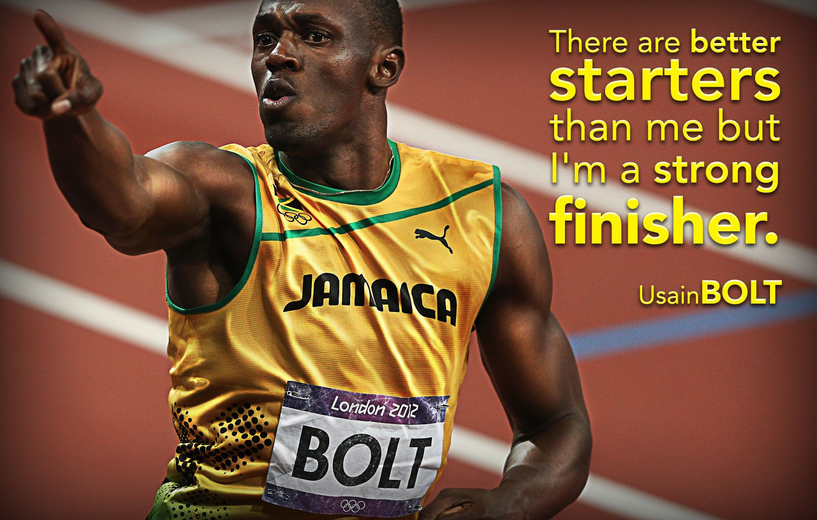 Motivational Poster Usain Bolt Classroom Posters