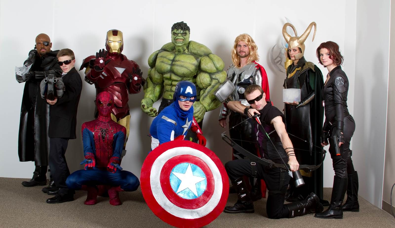 8 Group Halloween Costumes To Try This Year Avengers Costumes Group Halloween Costumes Marvel Halloween Costumes