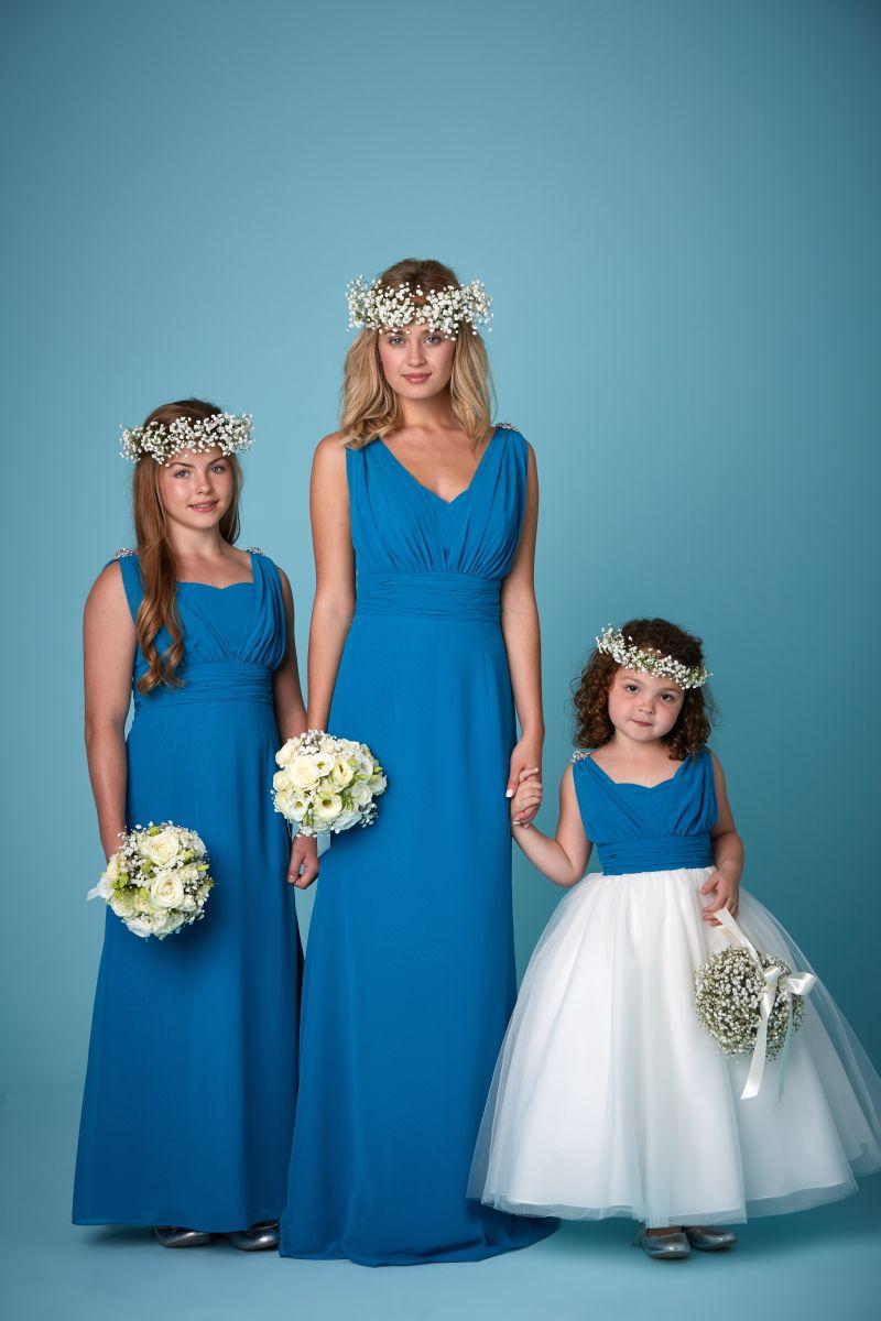 Bridesmaids 2259 Flower Range Of Colours All Sizes Straps Amanda Wyatt