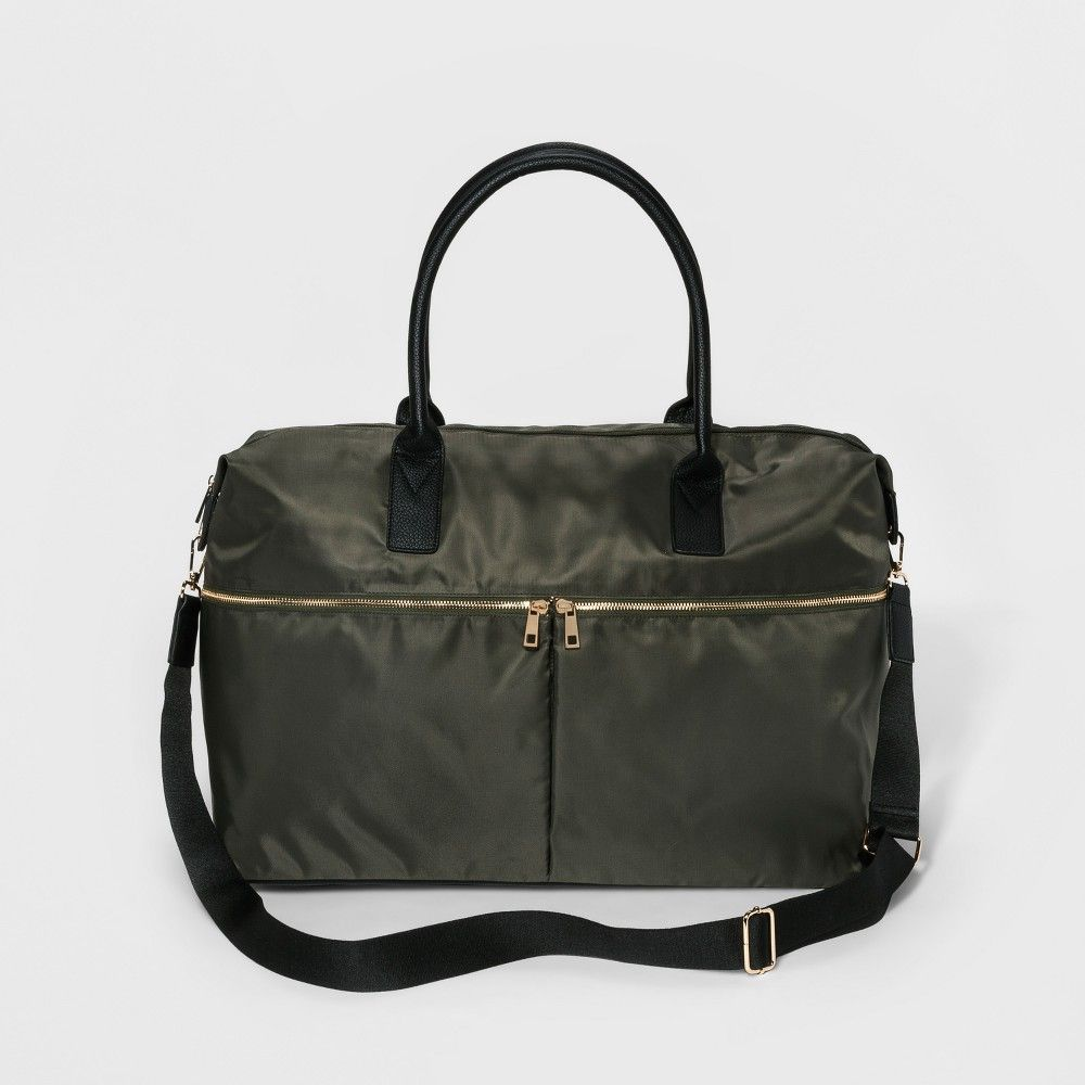 d529fd52c09d Nylon Weekender Bag - A New Day Olive Drab