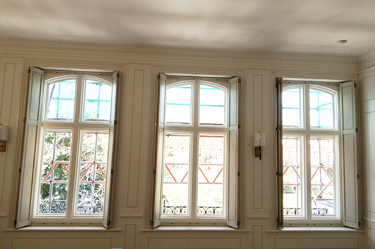 Solid Shutters Have Been Used In The UK For More Than 200 Years. They  Provide A More Traditional Finish To Dressing Your Interior Wooden Windows.