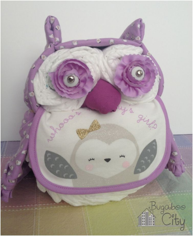 Top List 25 Creative Adorable Diaper Cake Ideas You Can Try Owl Cakesdiy