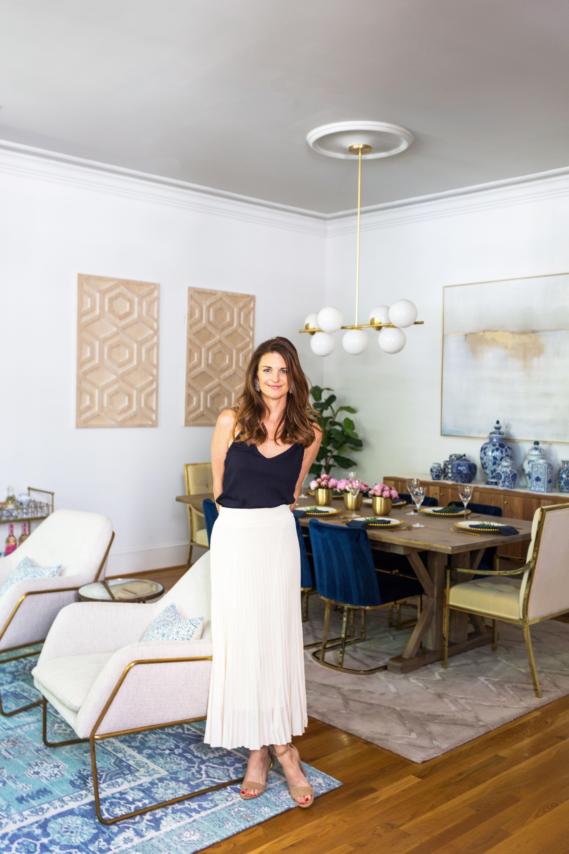 Living Room Dining Room Reveal Finding Beauty Mom Blue Velvet Dining Room Chairs Velvet Chairs Living Room Velvet Dining Room Chairs