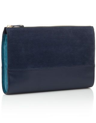 Abbey Contrast Clutch