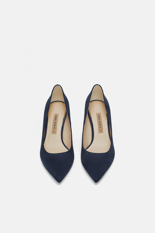 c37eb6a6698 ZARA - WOMAN - LAMINATED PUMPS Zara Shoes