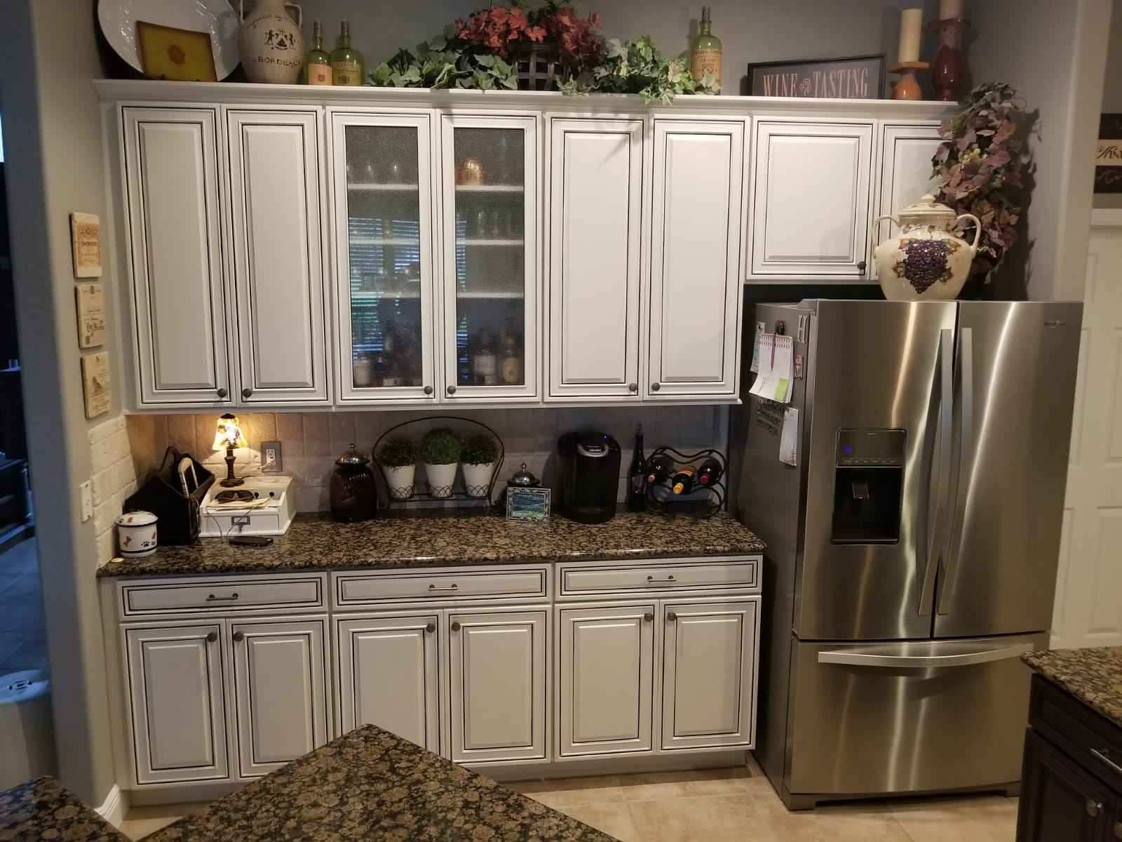 Pin on Kitchen Cabinet Makeover- Before and After