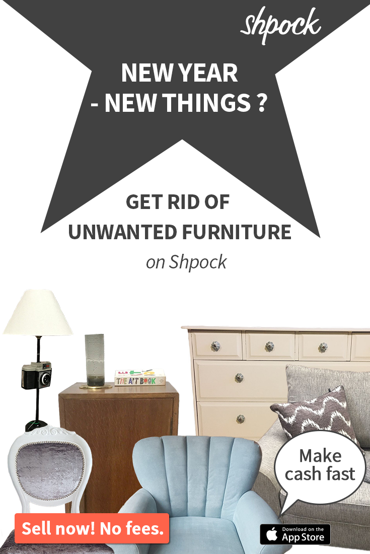 Sell Your Old Furniture To Make Space For New Things. Download Shpock Now  For Free And Start Selling! #newyear #newlook #renovating #interiordesign #  ...
