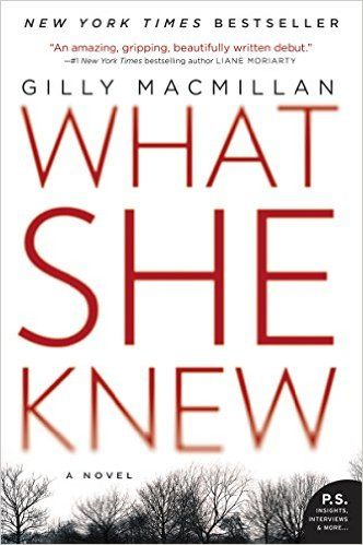 Image result for what she knew gilly macmillan