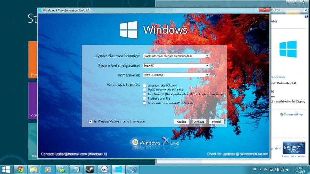Top 10 Windows 8 Themes For Windows 7 Windows 7 Themes Windows Samsung Wallpaper