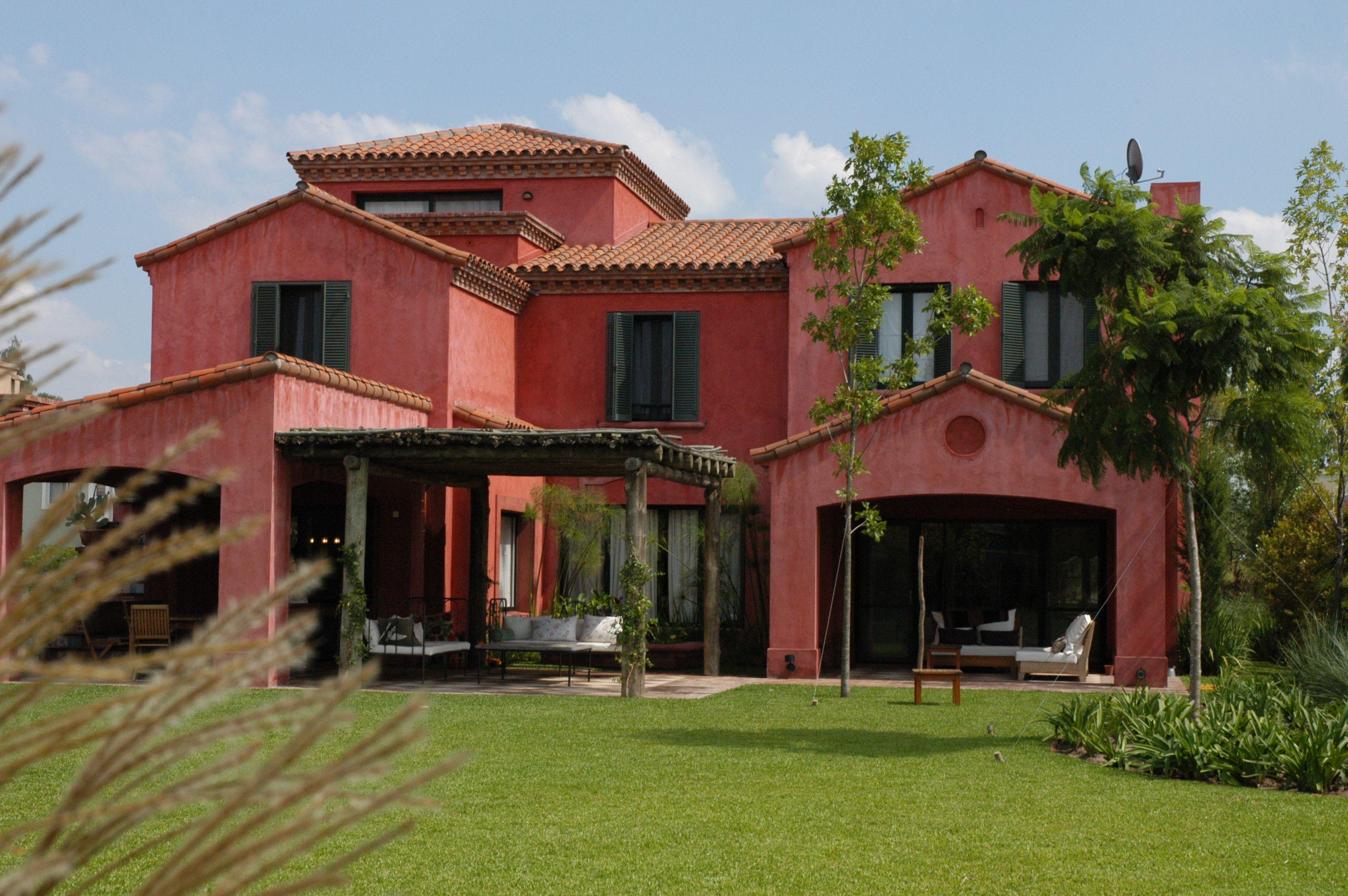 Arquitectura paisajismo ricardo pereyra iraola for Fachadas de casas clasicas