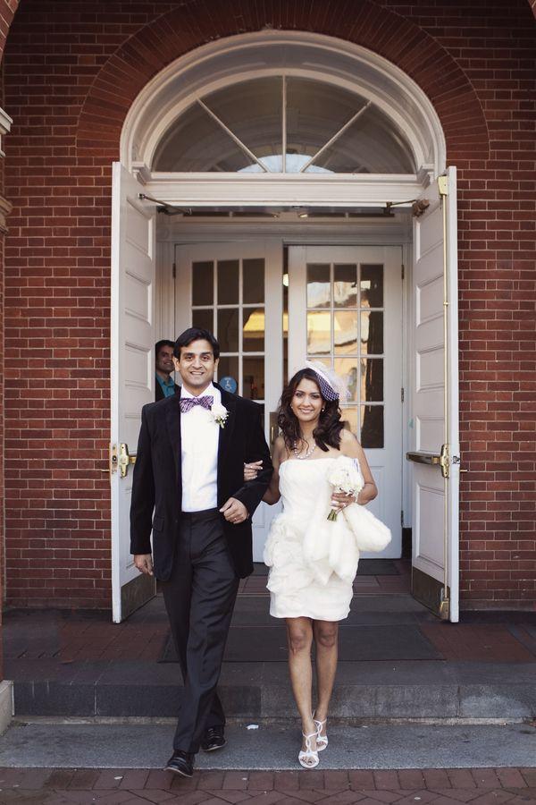 Courthouse Wedding Photo