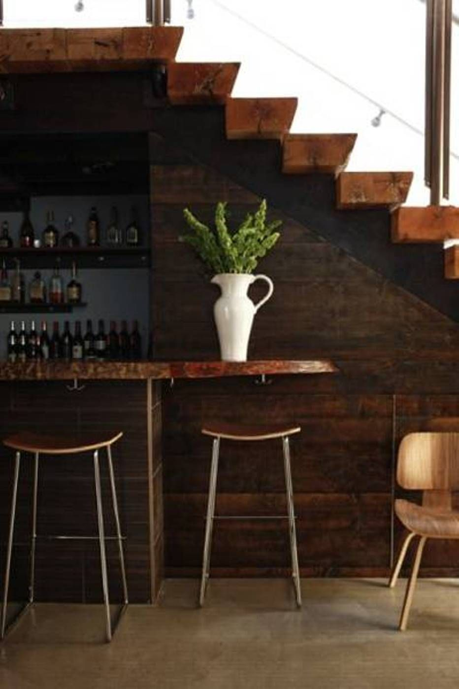 Home Design And Decor Under Stair Design With Mini Bar Rustic | Home Mini Bar Design Under Staircase | Wine Cellar | Living Room | Basement Stairs | Basement Bar | Interior Design Ideas
