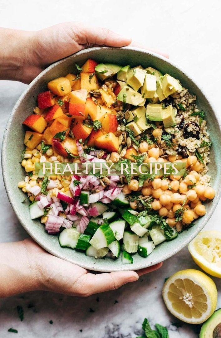 Photo of Couscous Summer Salad Spiced Couscous Juicy Nectarines Crunc…