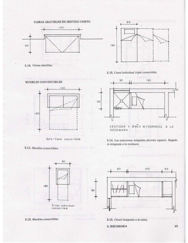 Las medidas de una casa xavier fonseca arq ergonom a for Dimensiones de mobiliario