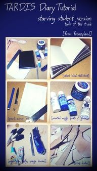 Doctor who river song journal DIY