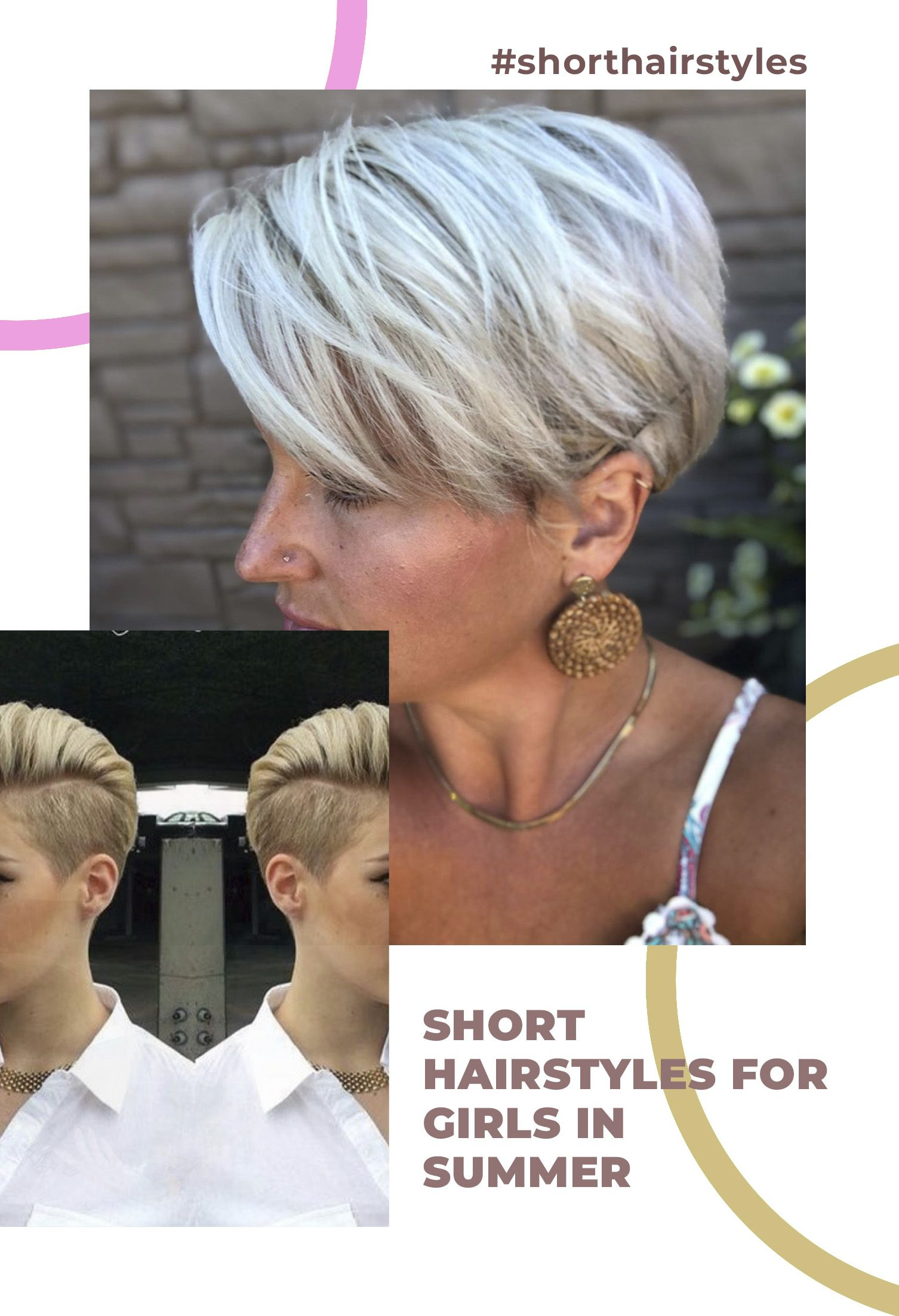 Beautiful Short Hairstyles For Teens During Summer Season Girl Short Hair Short Hair Styles Girl Hairstyles