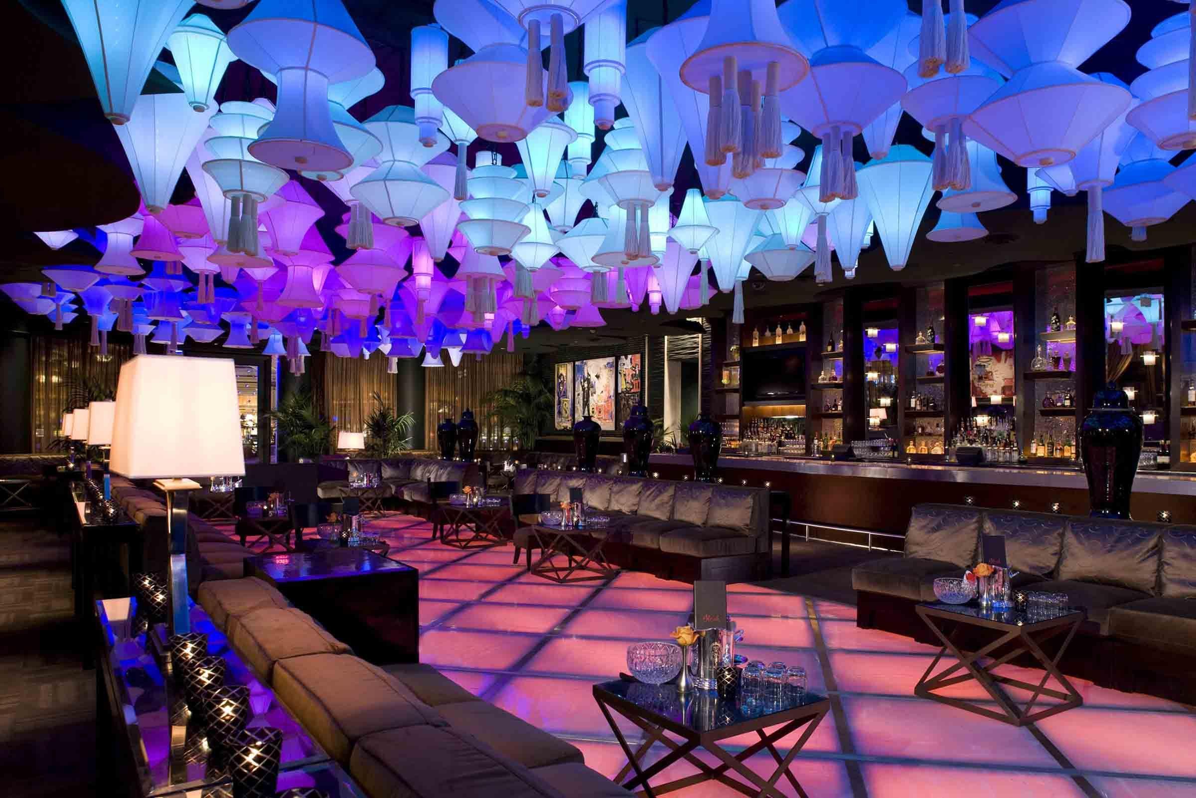 Interior design decor nightclub club bar for Interior design las vegas