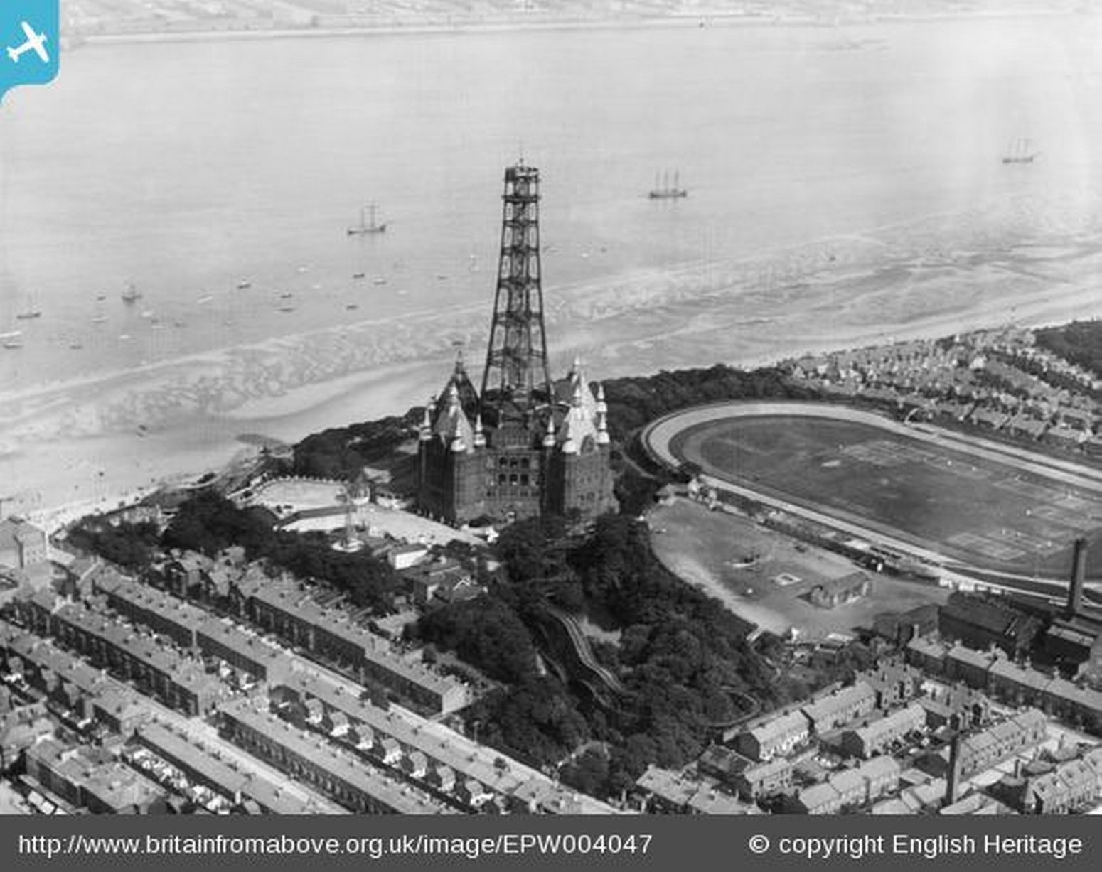 Gallery: Amazing archive photos taken above Liverpool and Wirral   New  brighton, Aerial view, Brighton