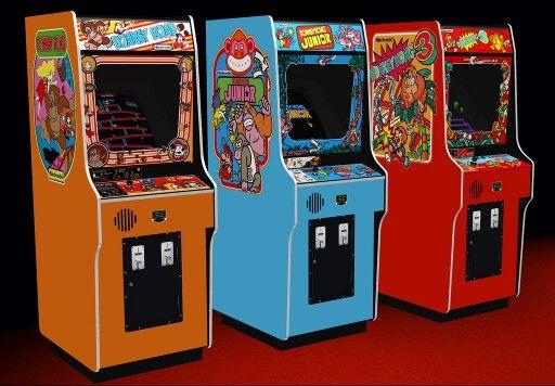 Donkey Kong Donkey Kong Junior And Donkey Kong 3 Cabinets