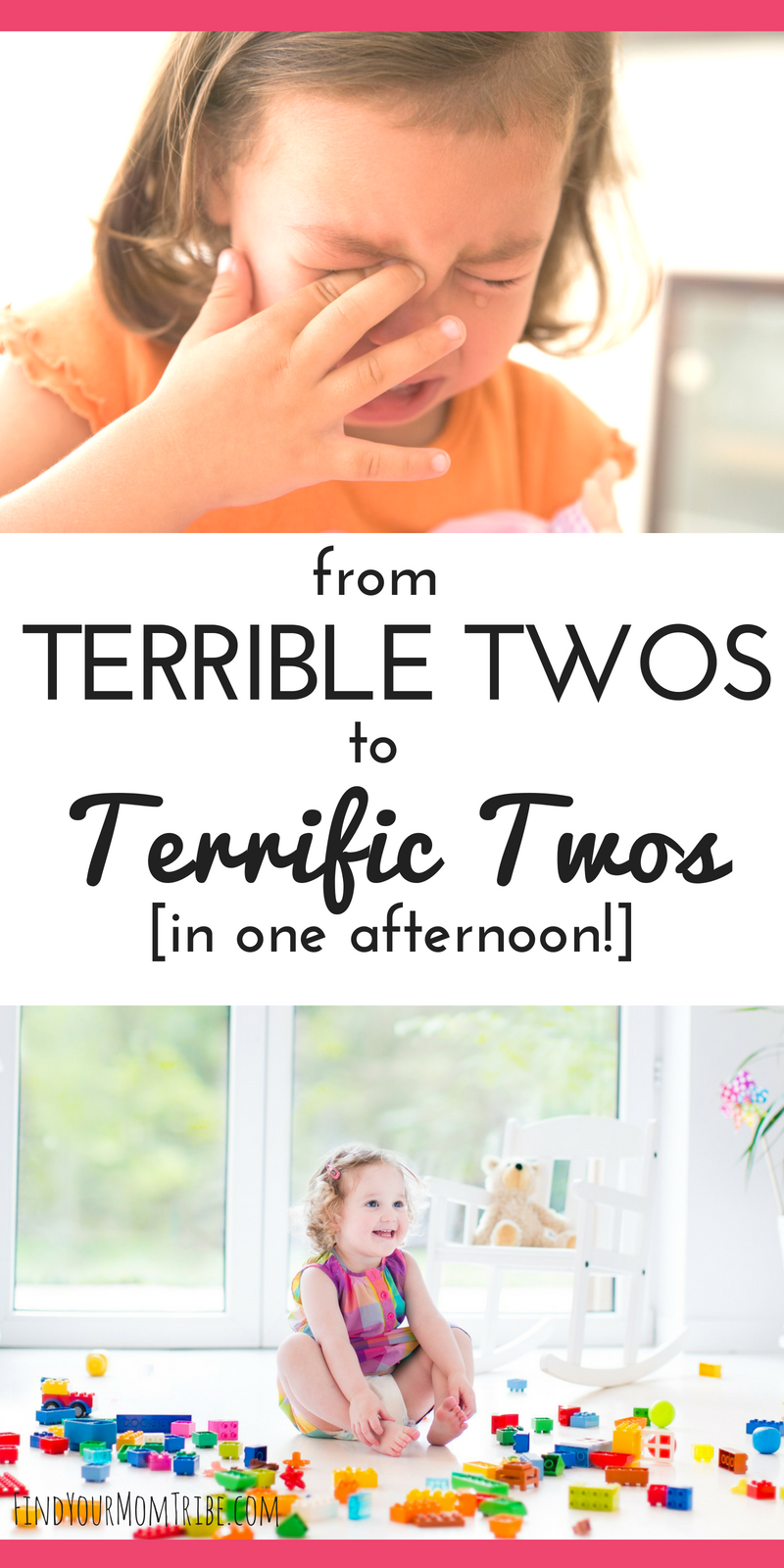 "Photo of In just one afternoon you can turn those ""terrible twos"" into terrific twos! Dea…"