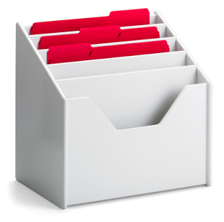 vertical file organizer - want for kids' papers!