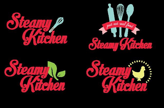 New logo for Steamy Kitchen by @steamykitchen ...