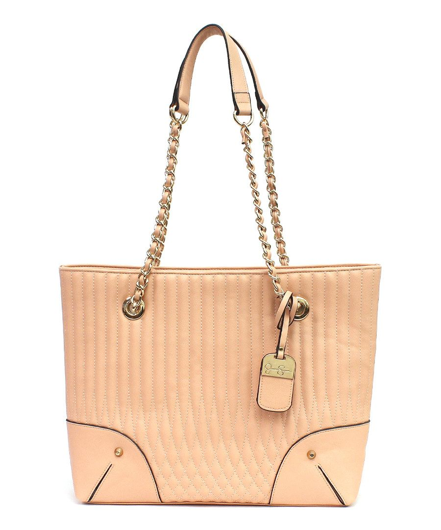 Look at this Peach Norah Tote on #zulily today!