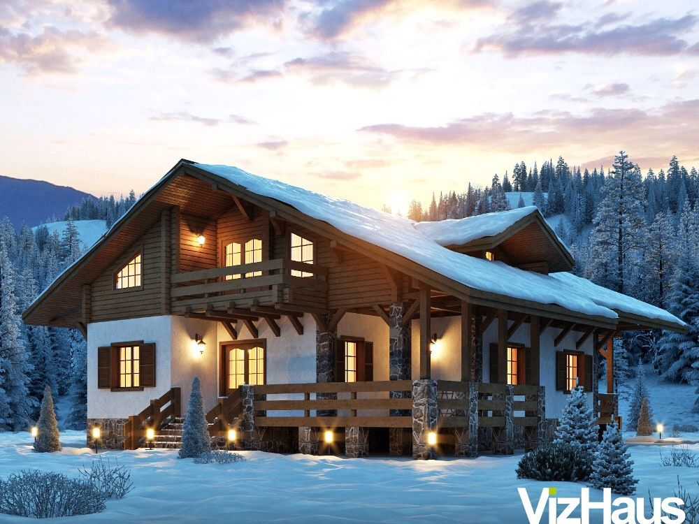 Wood Arch Wooden Architecture Log Homes Chalets Swiss Chalet Lake Houses 30 Years House Plans Community
