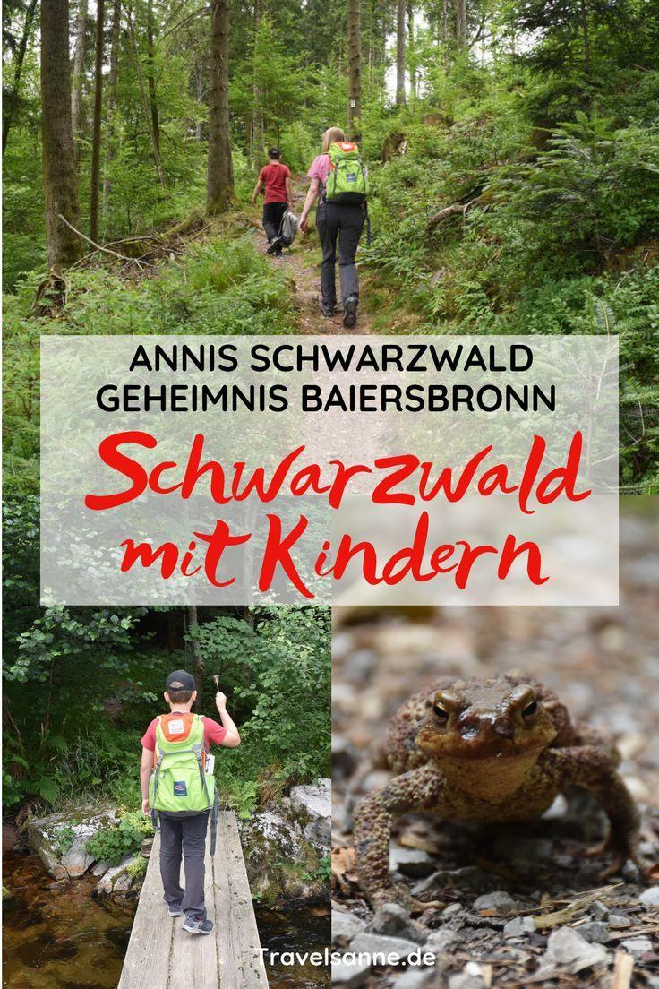 Schwarzwald mit Kindern: Auf den Spuren von Annis Schwarzwald Geheimnis Baiersbronn