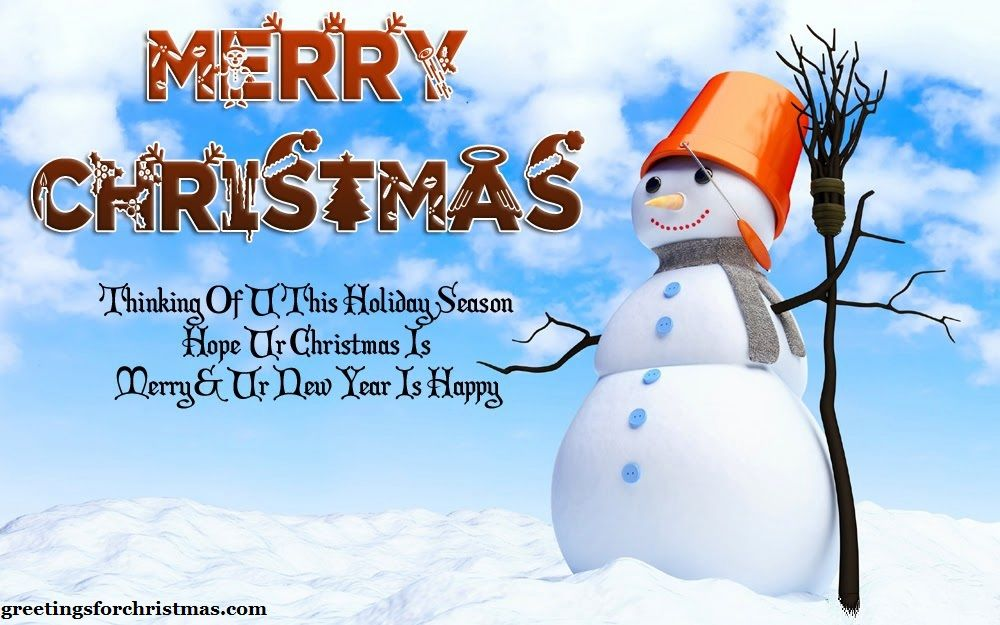 Happy New Year And Merry Christmas Greetings Message For Cards In