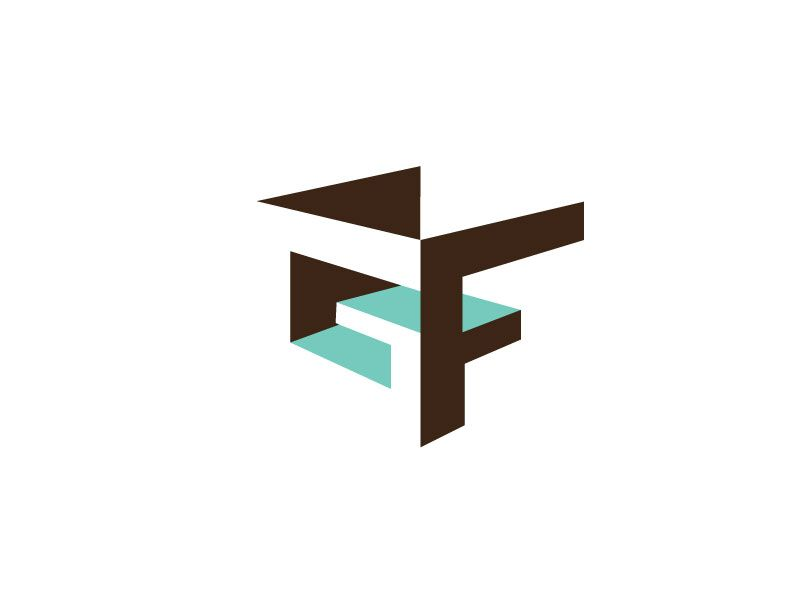 Logo Gautier Fenestraz Logo Design Letter Logo Design Logotype Design