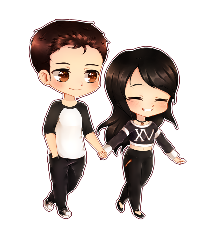 Pin on Chibi couple